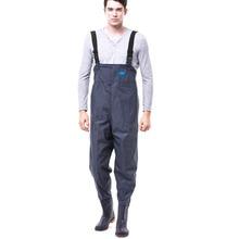 New Rain gear Wear-resistant thick Rain-proof Pants Fishing pants suit Water pants Waterproof suit rainwear (Rain pants - boots)