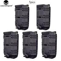 EMERSON 5.56mm Magazine Pouch M4 AR15 556 5.56 223 Tactical MOLLE Scorpion Adjustable Holster Mag Carrier Case Multicam Balck