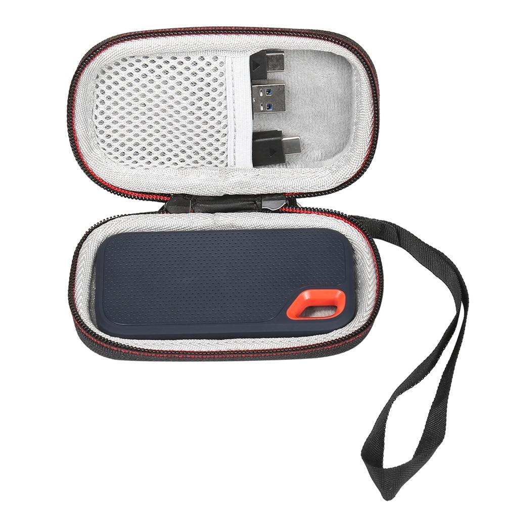 250GB 2TB Extreme Portable SSD 1TB LTGEM Hard Carry Case for SanDisk 500GB