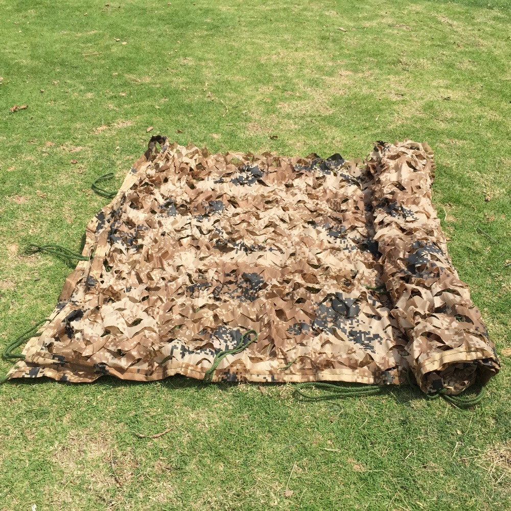 Camo Mosquito Tent Netting Woods Leaves Camouflage Brown Mesh Fabric BTY D179.11