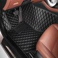 Автомобильные коврики чехол для Toyota Camry Corolla RAV4 Mark X Crown FJ Cruiser кожаный Противоскользящий автомобильный Стайлинг ковер лайнер