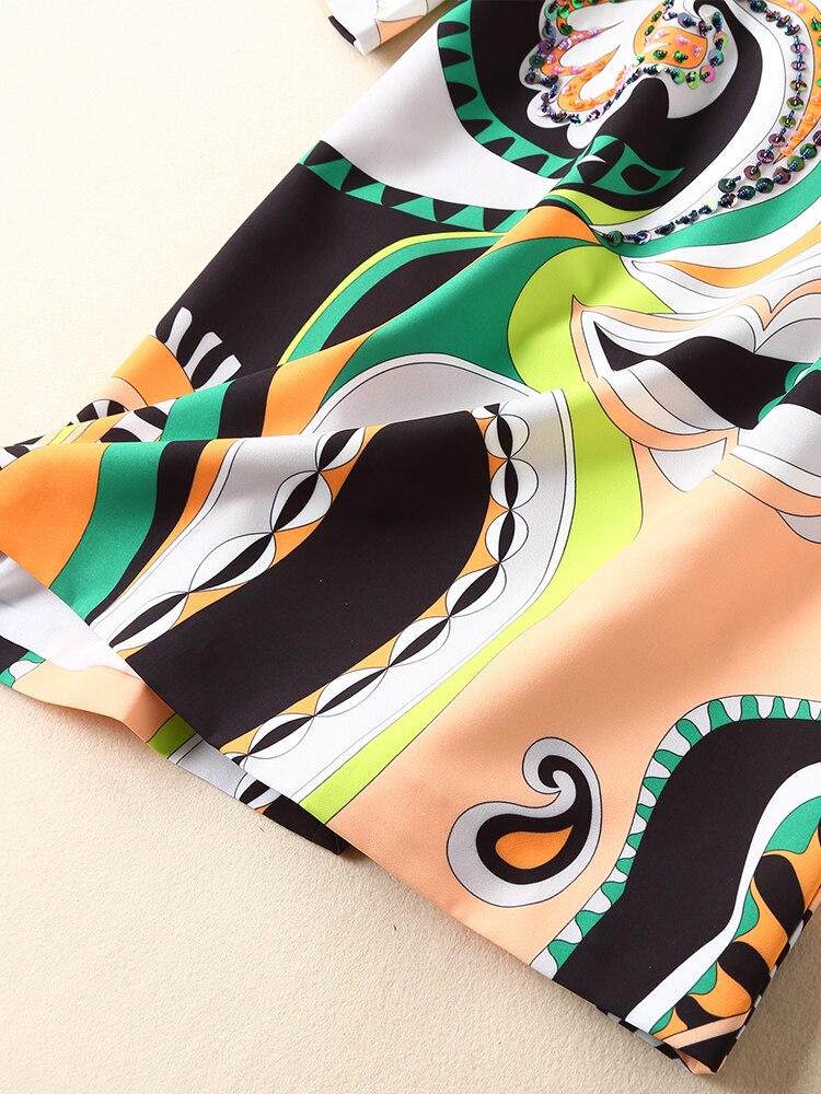 S01540 Qualité Luxe Robe Marque Européenne 2019 Printemps Style Supérieure Femmes Design De Nouvelle Mode Partie eEHIYD29Wb