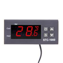 STC-1000 Two Relay Output LED Digital Temperature Controller Thermostat Incubator 110V 220V 12V 24V Aquarium Heater And Cooler(China)
