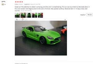 Image 5 - Welly ダイキャスト 1:24 スケール合金レーシングカーモデルカーメルセデスベンツ AMG GTR スポーツカー金属おもちゃの車おもちゃギフトコレクション