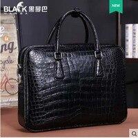 Heimanba портфель юриста полная кожа новый крокодил живота сумка Мужская Бизнес кожаная сумка большая емкость товара