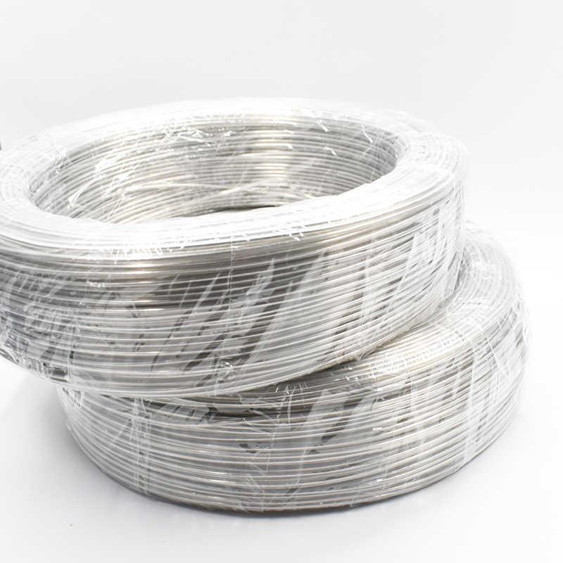 2 мм * 200 метров Серебряный алюминиевый провод DIY аксессуары для вязания пряжи куклы Шляпы материал для укладки крючком ремесла