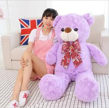 Teddy Bear 120cm High Quality Cute Large Bear Giant Teddy Bear Plush Toy Gift Plush Ted Man's Movie For Kids Gift(China)