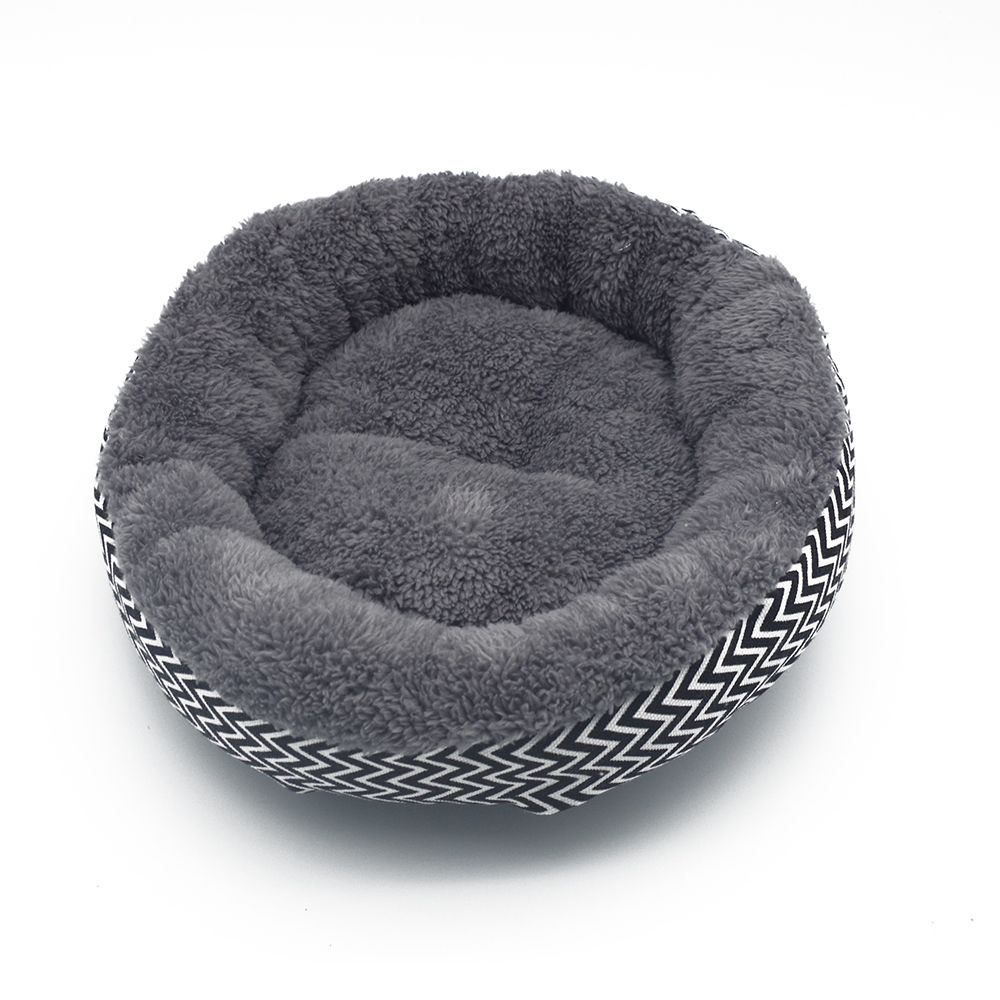 Fine Joy Hot Sales!dog Bed Kennel Soft Dog Mats Puppy Cat Bed Pet House Nest Small Dog Pad Winter Warm Pet Cushion Xmas Gifts