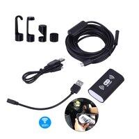 2018 8MM 1200P HD Camera Wifi Micro Endoscope Android Waterproof MIni Camcorder Engine Borescope For 8