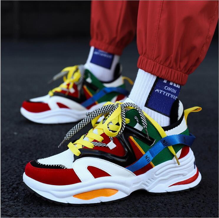 ec2433da3fe6 Male Running Shoes triple S Sneakers Balencia Rriumph Street Race Runner  DAD Chunky Shoes Dope Balanciaga Sport Men Disruptor XX