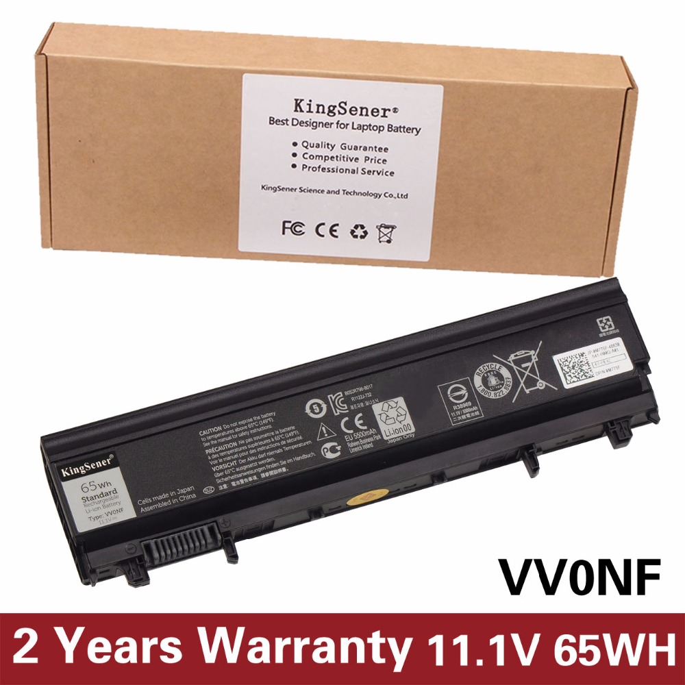 KingSener Japanese Cell New VV0NF Laptop Battery for DELL Latitude E5440 E5540 Series VJXMC N5YH9 0K8HC 7W6K0 FT6D9 11.1V 65WH