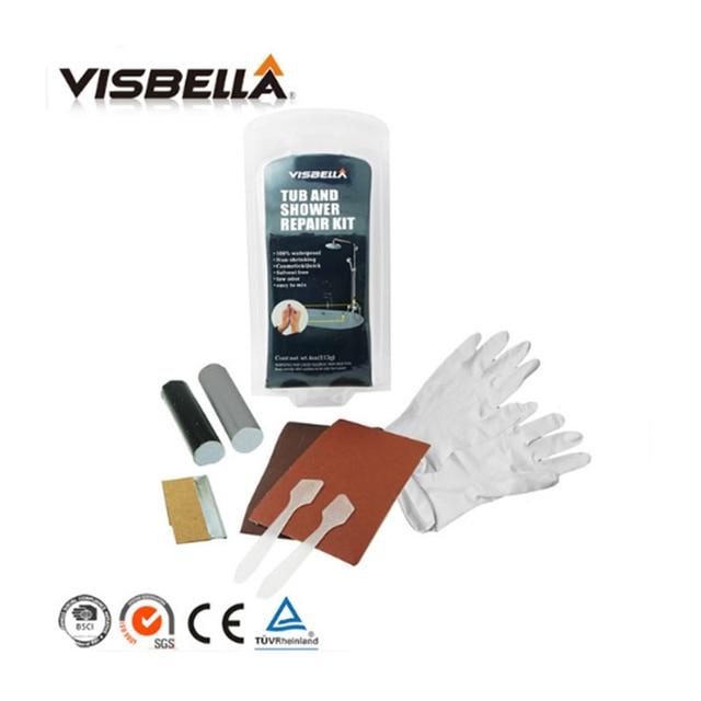 Visbella DIY Tub and Shower repair kit Bath crock repair glue ...