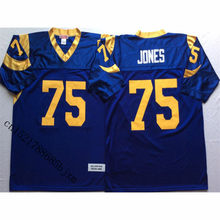 a5582aa60 Mens Retro Deacon Jones Stitched Name Number Throwback Football Jersey Size  M-3XL(China)