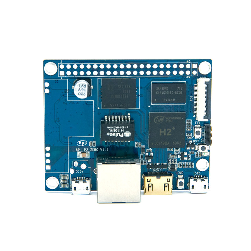 BPI-P2 Zero quad core single-board computer support for IoT and smart home image