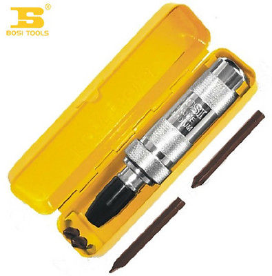 BOSI Tools of CR-V Set of 5Pcs Percussive Drilling w Screwdriver Heads bosi 3pcs 10 250mm aviation snips series cr v rasp dremel 2016