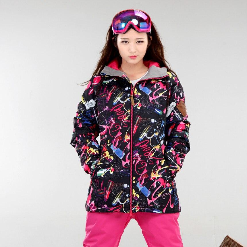 NIUMO NEW Snowboarding Jackets suit Female Windproof waterproof Breathable Wear Keep warm Snowboarding coat