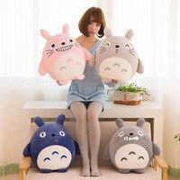 VILEAD רך כרית כותנה הקריקטורה מיאזאקי Totoro בובה דקורטיבית ילדים ישנים עם ריפוד בפלאש צעצוע חמוד ילדה מתנות