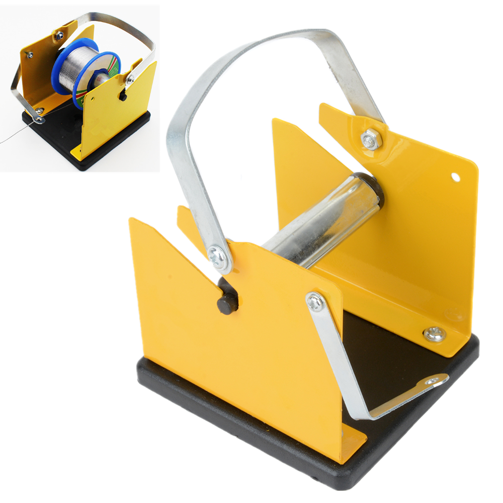 Metal Solder Wire Holder Support Adjustable Solder Reel Dispenser Stand Tin Management Spool Feeder Mayitr Electric Welding Tool