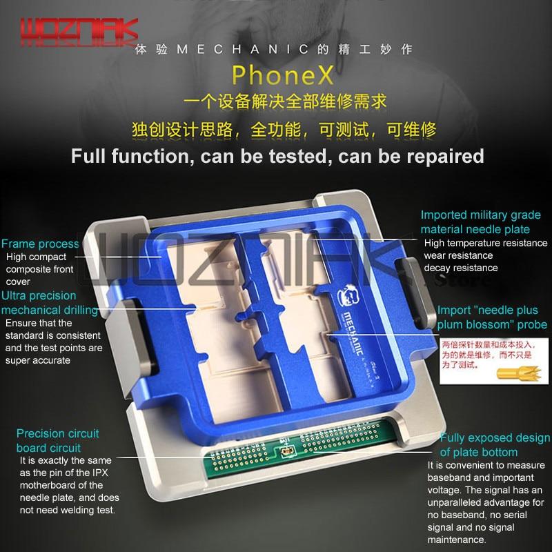Полнофункциональный Тесты ing для IPHONE X Тесты er открыть машину дисплей сенсорный WI-FI лампа Камера Рог Тесты обслуживания платформа машины