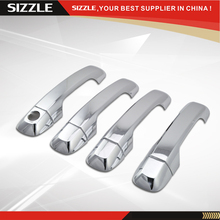 Accessories For Ford Fiesta 2008 2009 2010 ABS Plastic Chrome Door Handle Cover South America Edition Only