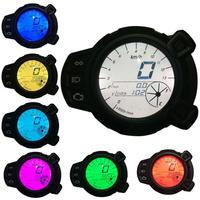 Car Styling Motorcycle Colorful LCD Display Oil Level RPM Speed Meter For Yamaha BWS125 Motor Vehicle