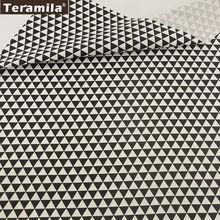 Постельное белье Лоскутная хлопчатобумажная ткань черный геометрический