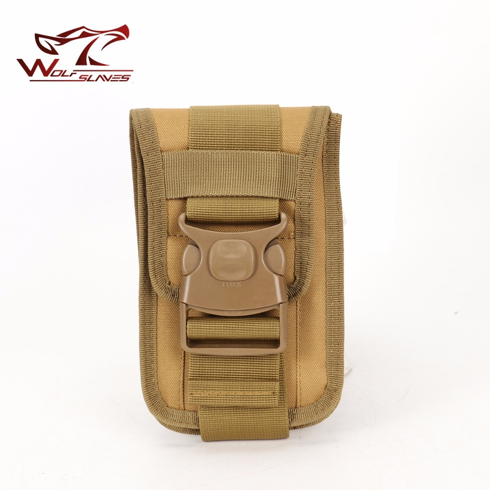 Outdoor Protable Mobile Bag with Card Pocket MOLLE Hip Waist Belt Bag Wallet Purse Phone Case for iPhone 8/Samsung