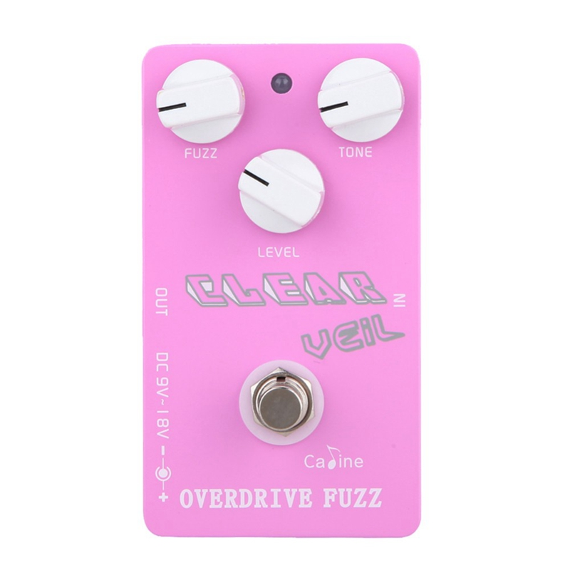Caline CP-32 Overdrive Fuzz Guitar Effet Pedal Clear Veil Pedal Effekt Effekt Effekt Guitar Tilbehør Guitar Pedal Guitar Dele