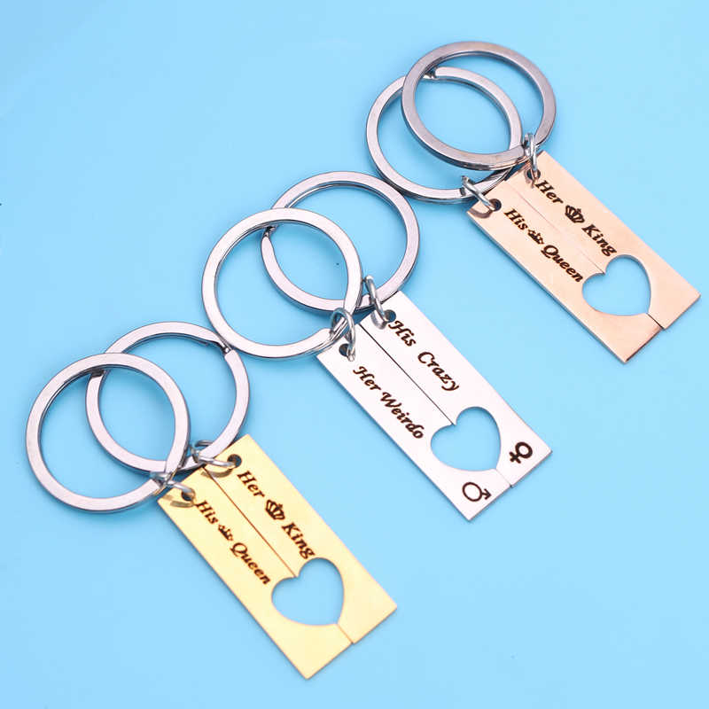 Personalized Calendar Keychain Stainless Steel Date Names Calendar Keychains
