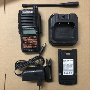Image 5 - UV9R walkie talkie Baofeng 8W powerful dual band 2800mAh battery IP67 Waterproof CB Two Way Radio UV 9R+usb cable two way radio