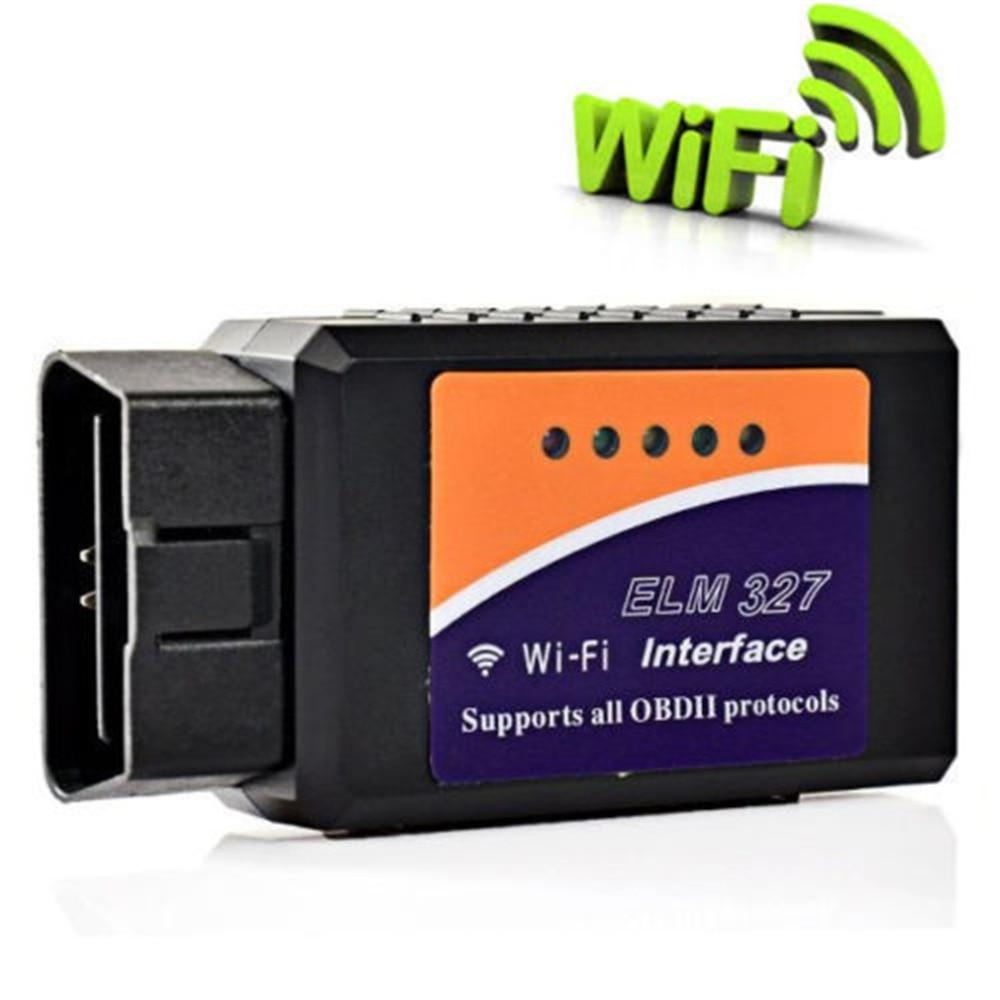Prix pour 2016 V1.5 ELM327 Wifi OBD2 De Voiture Outil De Diagnostic ELM 327 WIFI OBDII Scanner Sans Fil ELM327 Lecteur de Code Pour Android/IOS