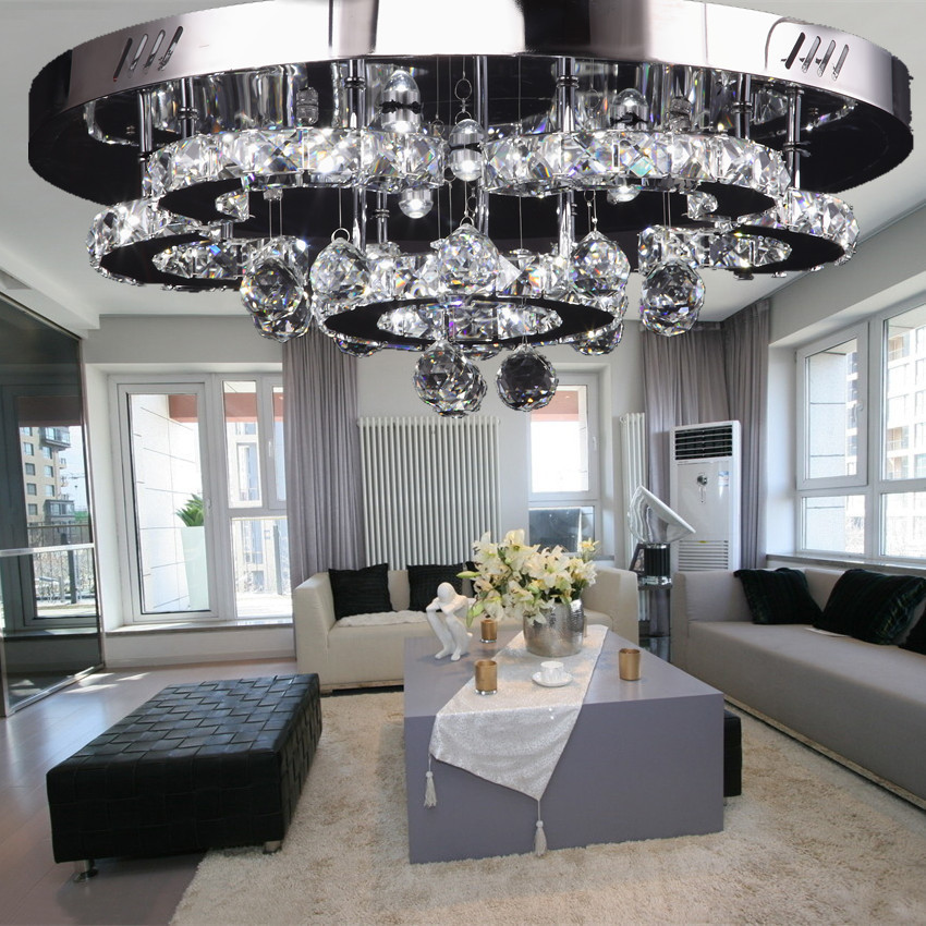 online shop 2016 modern living room lamp led ceiling simple flower