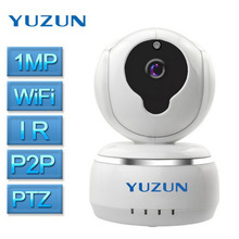 Wireless Home Security IP Camera Wi-Fi 720P Mini Dome Camera Video Surveillance Camera Support TF Card Night Vision Baby Monitor