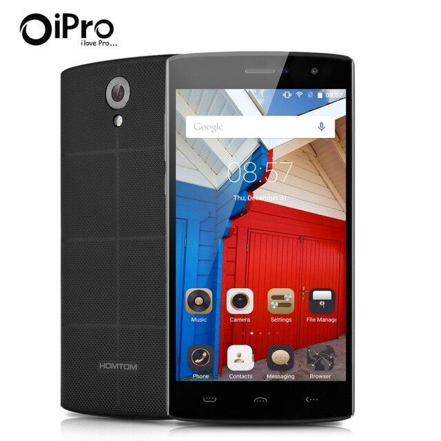 Homtom ht7 5.5 pulgadas mtk6580 quad core celular android 5.1 ram 1 gb + rom 8 gb teléfono inteligente dual sim 3000 mah batería wcdma