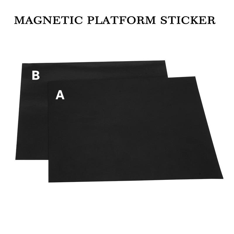 214*214/220*220/300*300MM heatbed magnetic bed 3d platform sticker flexible Tape pla for a6 a8 cr10 MK3 hotbed 3D printer part 3D Printer Parts & Accessories     - title=