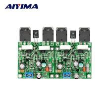Aiyima 2 pcs mx40 듀얼 채널 스테레오 오디오 전력 증폭기 보드 amplificador 50 w 8r