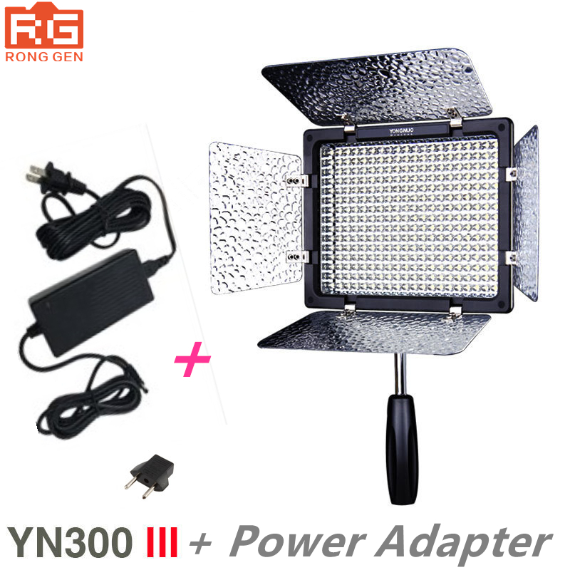 New Yongnuo YN300 III YN 300 lIl 3200k 5500K CRI95 Camera Photo LED Video Light with