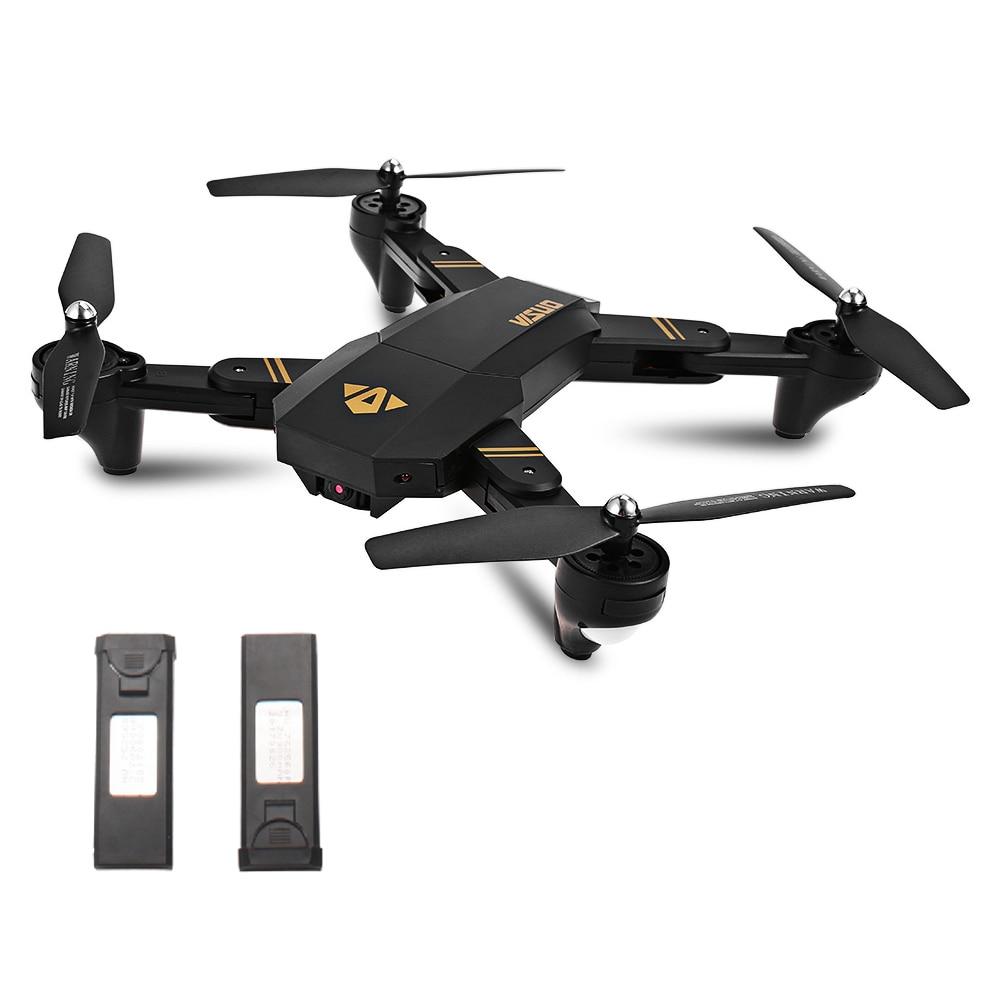 TIANQU XS809W Drone RC pliable RTF WiFi FPV g sensor Mode hélicoptères RC quadrirotor un retour de clé - 4