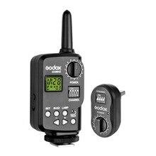 Godox ft 16 controle de energia sem fio flash gatilho remoto para godox witstro ad180 ad360 flash speedlite para canon nikon pentax