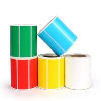Красочные Термальность бумага, клей Термальность Стикеры Бумага пустой печати этикеток бумаги