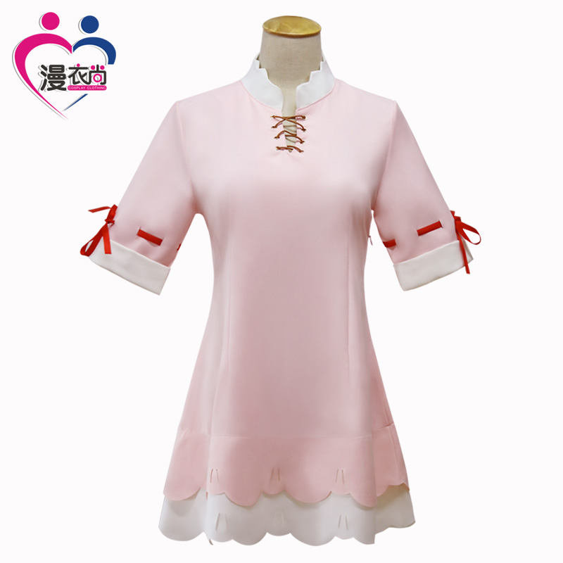 CosHome Miss Kobayashi's Dragon Maid Kamui Kanna Cosplay Costumes Chiffon Pajamas Home Dress Nightgown Uniforms Anime Outfit
