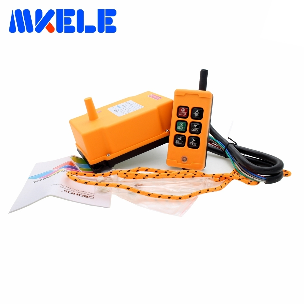 New Arrivals crane industrial remote control HS-6 wireless transmitter push button switch China new arrivals crane industrial remote control hs 8s wireless transmitter push button switch china