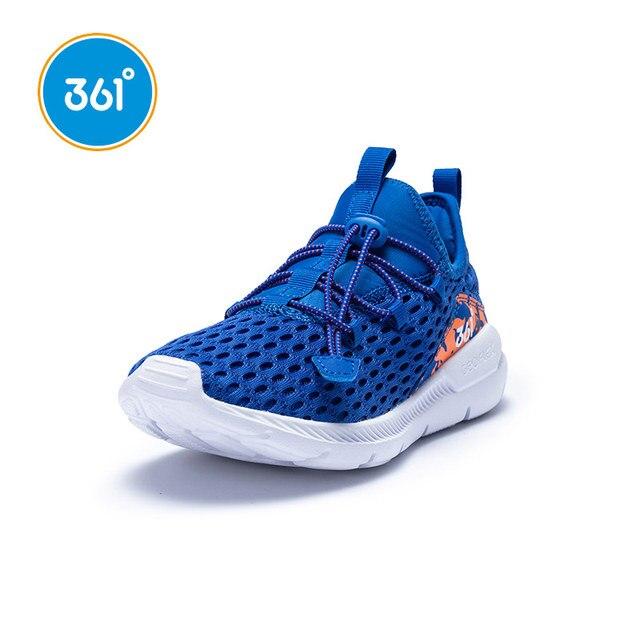 361 градусов Детские кроссовки Воздухопроницаемый Легковесный 2019 Новое поступление уличные спортивные кроссовки N71923502