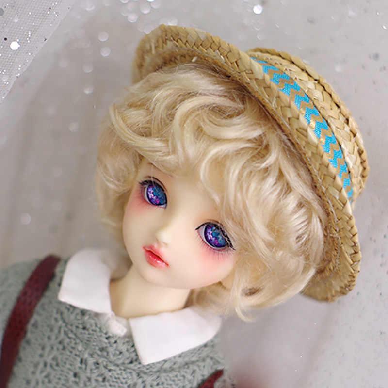 Кукла Cateleya BJD с парик мохера короткие кудри 1/6 1/4 гигантская кукла 1/3 аксессуары