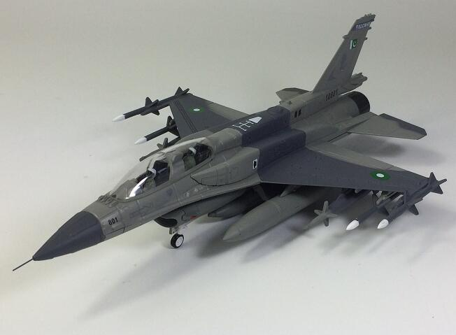 1/72 Pakistan air force F-16 fighter model Collection model force f k2463