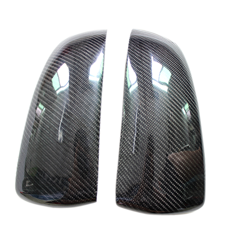 Car styling!Set Carbon Fiber Rearview Door Mirror Wing Cover Surrounds For BMW X6 E71 2009-2014