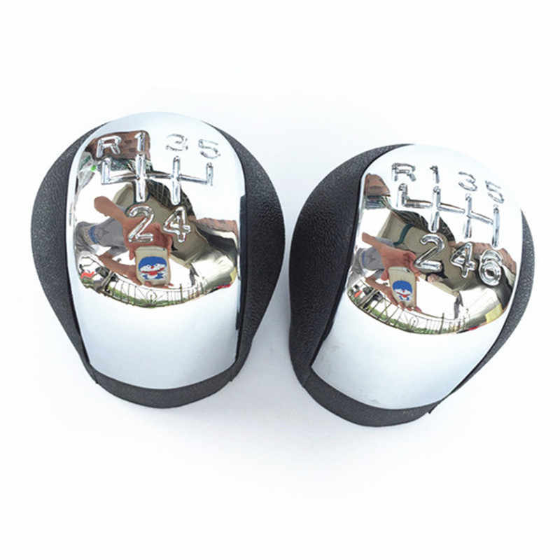 Chrome Abs 5 / 6 Speed Auto Pookknop Chrome Voor Vauxhall Opel Vectra C B Corsa Astra G signum Combo 2002 2003 2004 2005