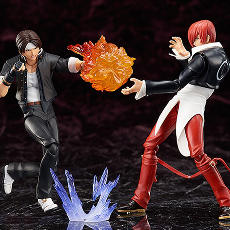 Game KOF The King Of Fighters Kyo Kusanagi & Iori Yagami BJD Figma Action Figure Model Toys