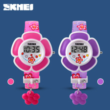2018 Montre Enfant New Children Watches Cute Cartoon Watch Kids 3D Plastic Digital Watch For Boy Girls Student Sports Watch Gift