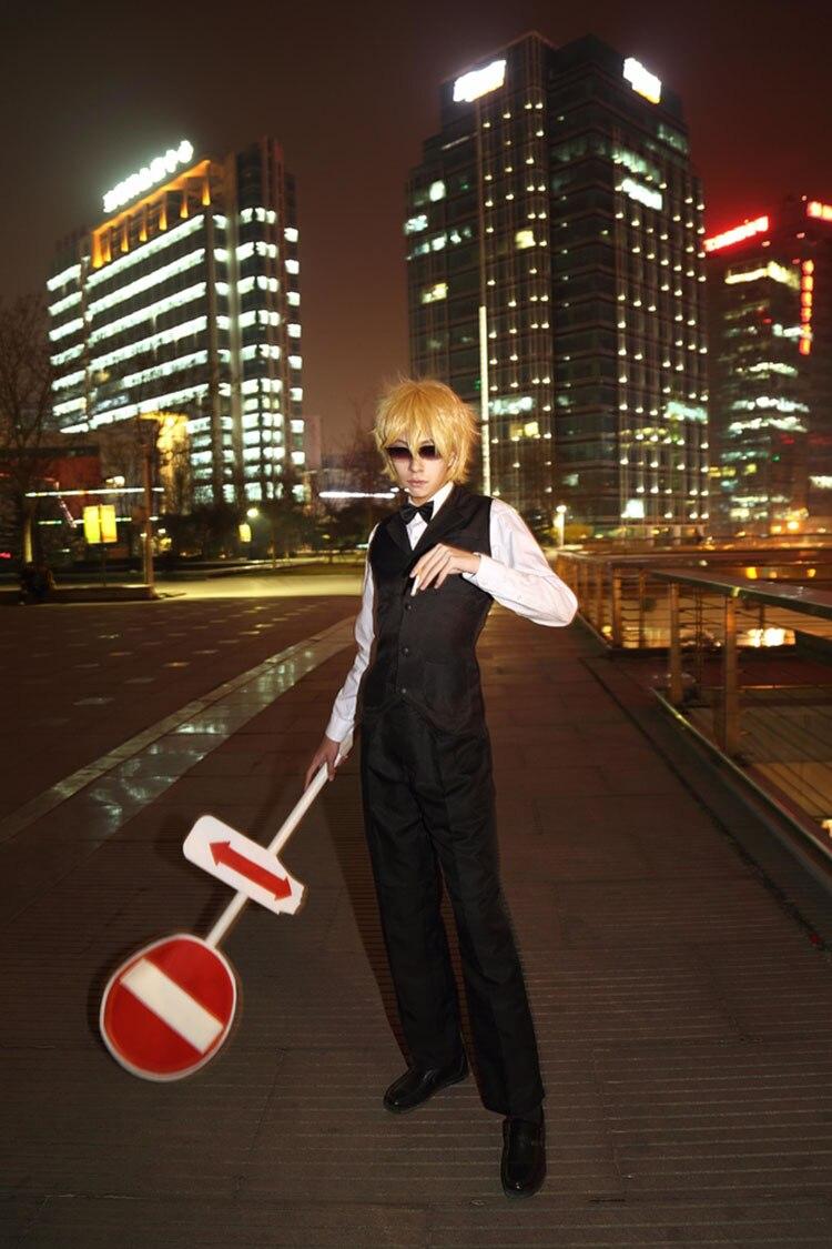 Durarara Heiwajima Shizuo Costume Cosplay Anime personnage costume cosplay thème carnaval Costume anniversaire Halloween cadeau adulte